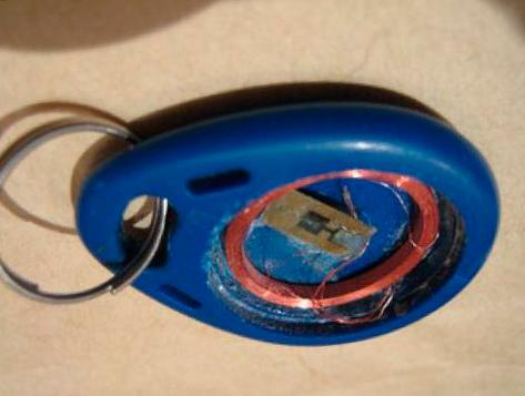 домофонный ключ устройство