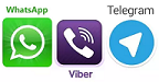 whatsapp, viber, telegram